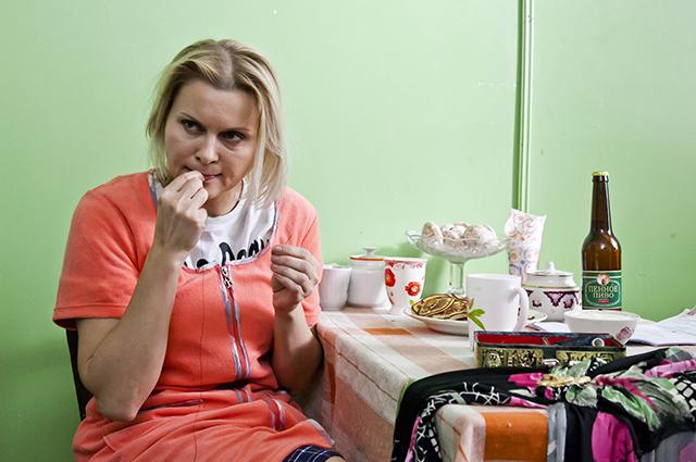 Яна Троянова в сериале «Ольга».