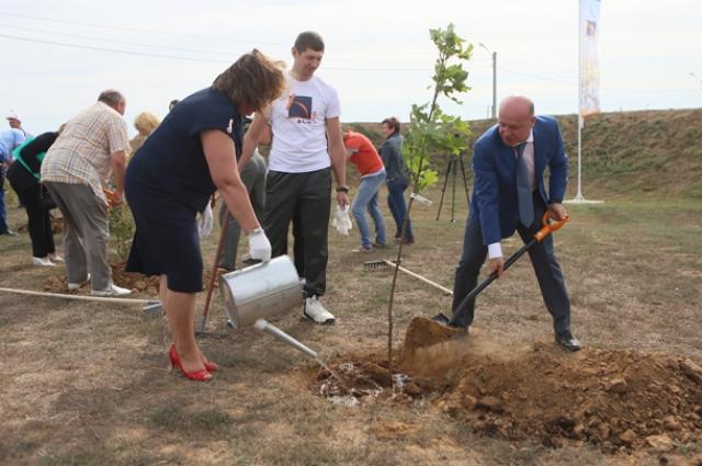 На полигоне Волжского трубного завода постоянно проходят экологические акции.