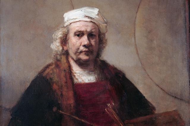 Автопортрет Рембрандта (1665/1669 годы).