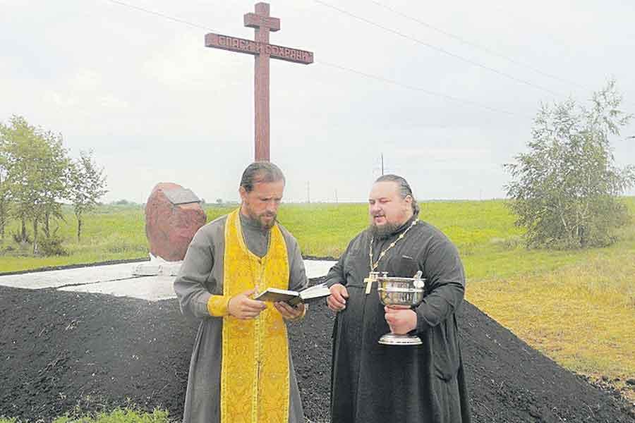 В селе хотят восстановить храм, который был разрушен в 1938 году.