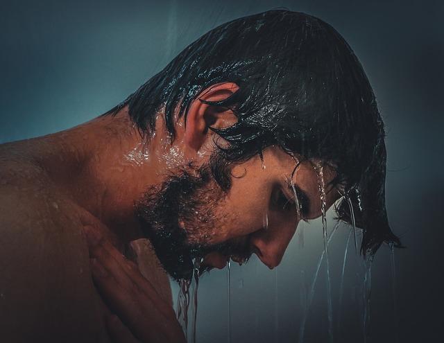 душ, горячая вода