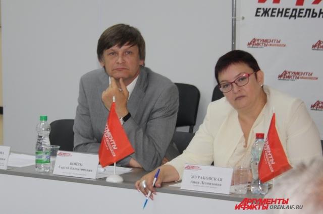 Сергей Бойко и Анна Жураковская.