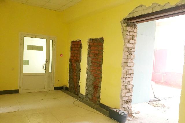 К 1 октября площадь реанимационного отделения в рязанской больнице увеличится в два с половиной раза.