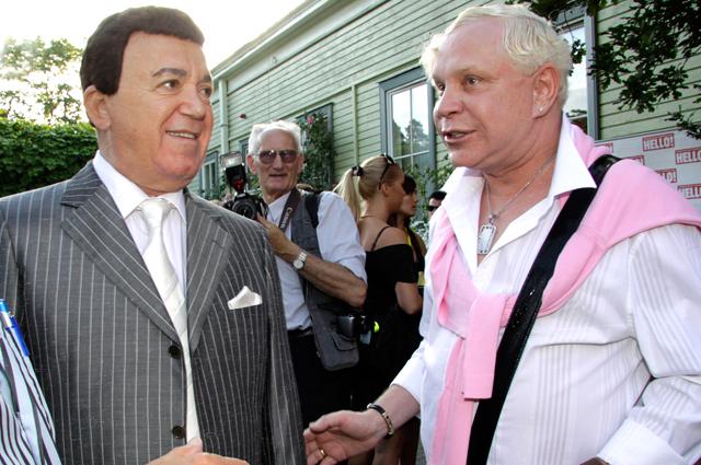Иосиф Кобзон и Борис Моисеев. 2009 г.