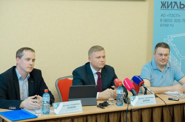 Алексей Дёмкин уверен, что дом, который начала строить в Удмуртии дочерняя компания «ПЗСП¬Ижевск», будет не один.