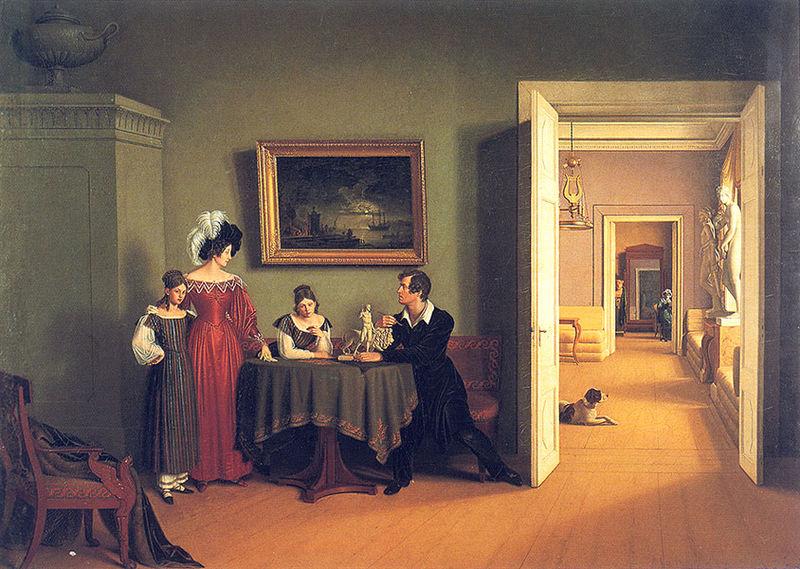 Федор Толстой. Семейный портрет