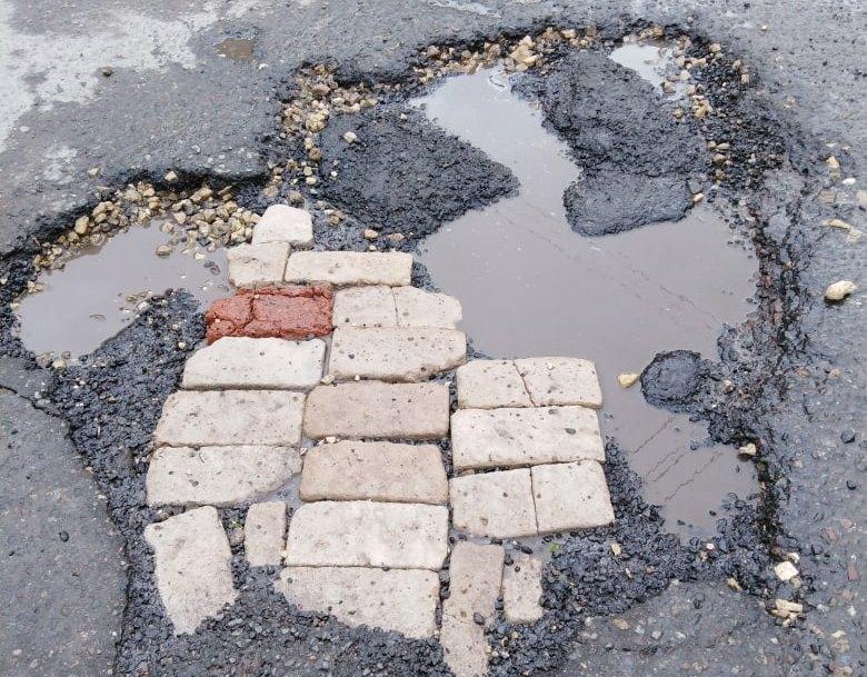 Улица Беклемищева в Узловой.