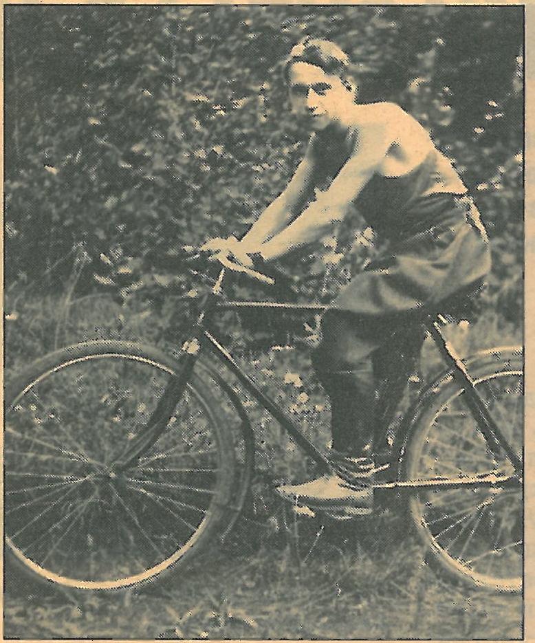 Арсений БУНИН каждые выходные наматывал километры на своем любимом велосипеде.