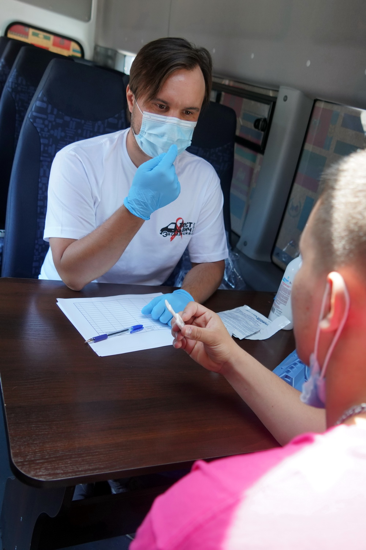 В крае ежегодно проводятся акции по анонимному экспресс-тестированию на ВИЧ