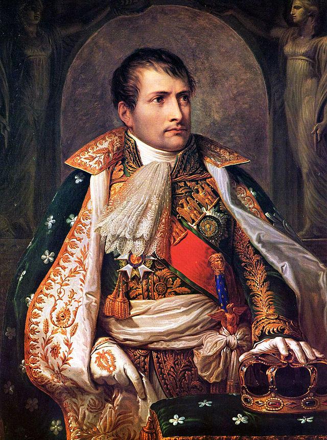Наполеон был коронован королем Италии 26 мая 1805 года в Милане. Картина Андреа Аппиани