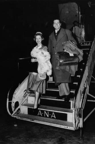 Лоуренс Оливье и Вивьен Ли. 1948