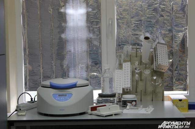 Выделить ДНК помогает современное и точное электронное оборудование
