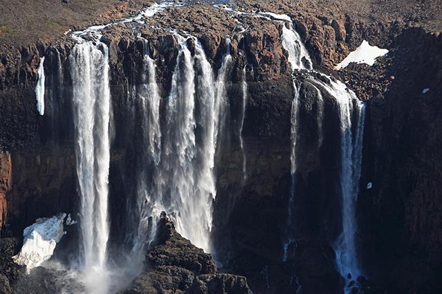 Плато Путорана. Водопады