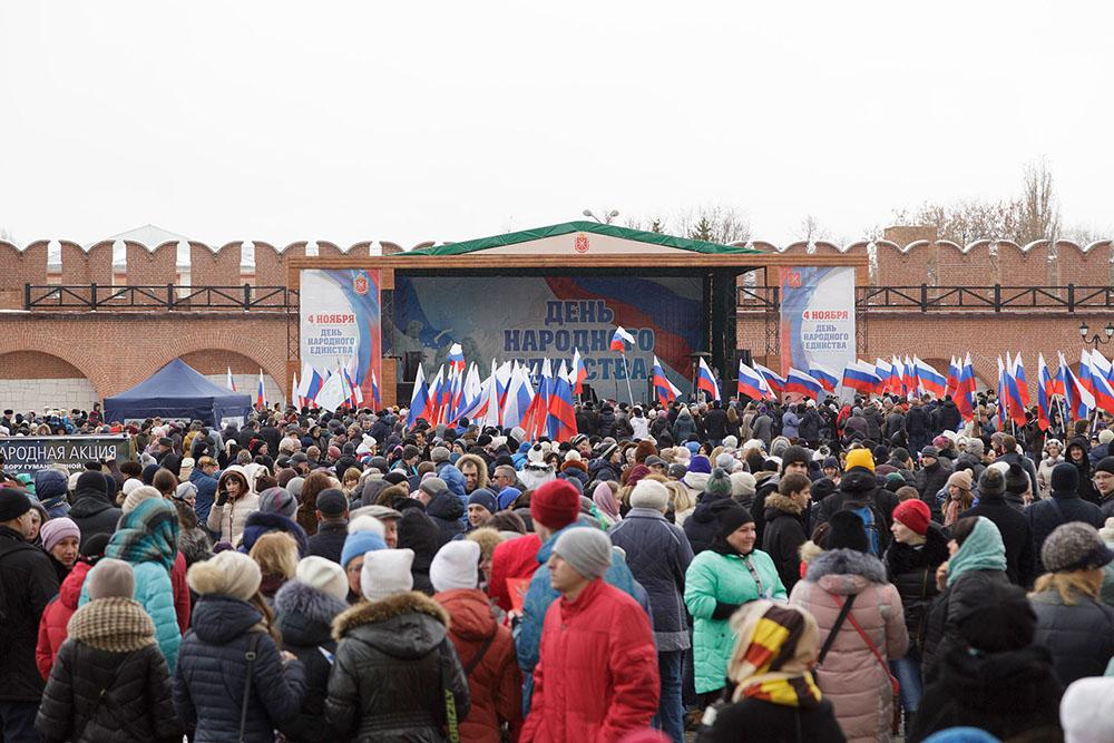 День народного единства в Тульском кремле