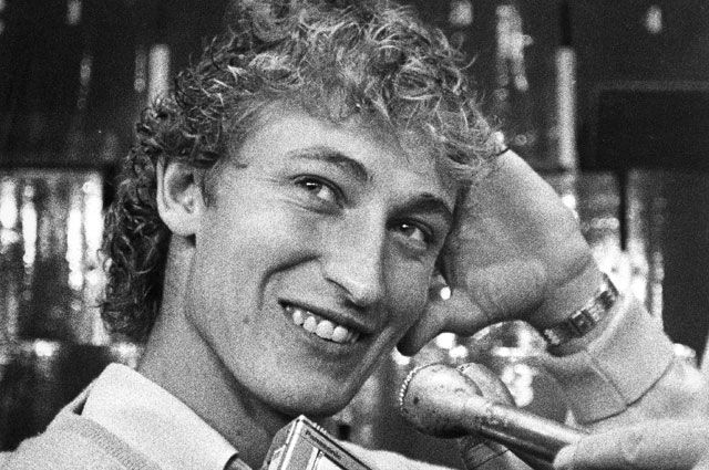 Уэйн Грецки в 1981 году