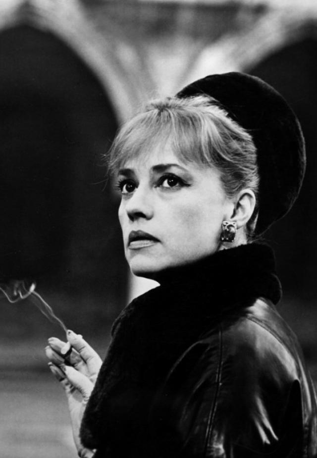 Жанна Моро в фильме «Ева» (1962)