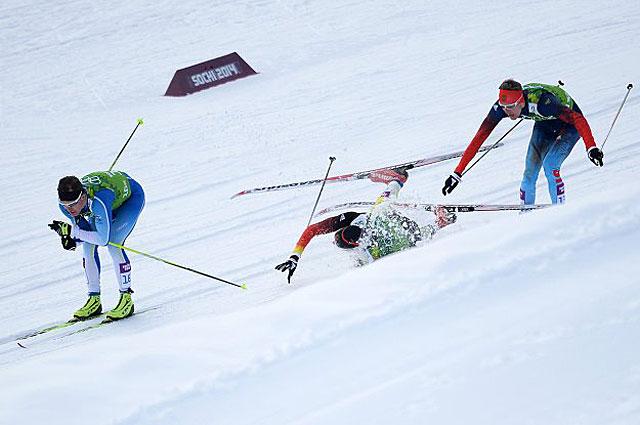 Возможно, именно падение немецкого спортсмена помешало Никите Крюкову опередить Сами Яухоярви из Финляндии