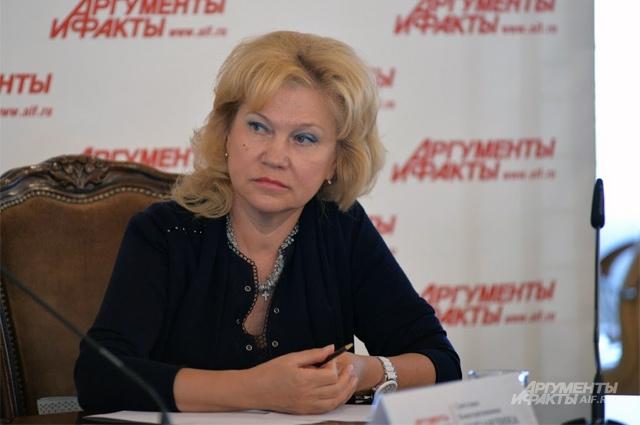 Генеральный директор Центрального научно-исследовательского института швейной промышленности (АО ЦНИИШП) Светлана Лопандина.