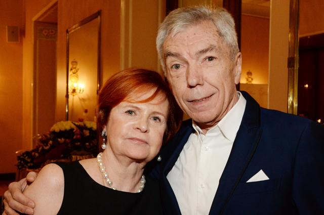 Юрий Николаев с супругой.