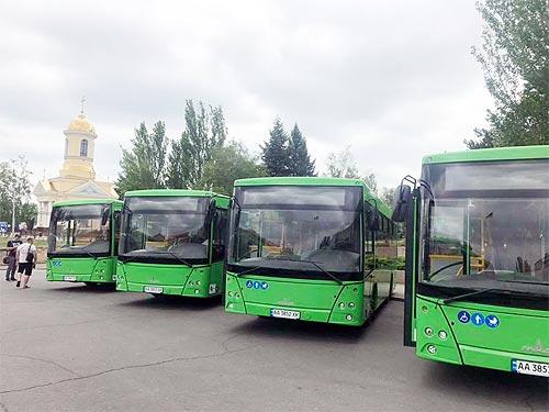 Автобусы МАЗ.