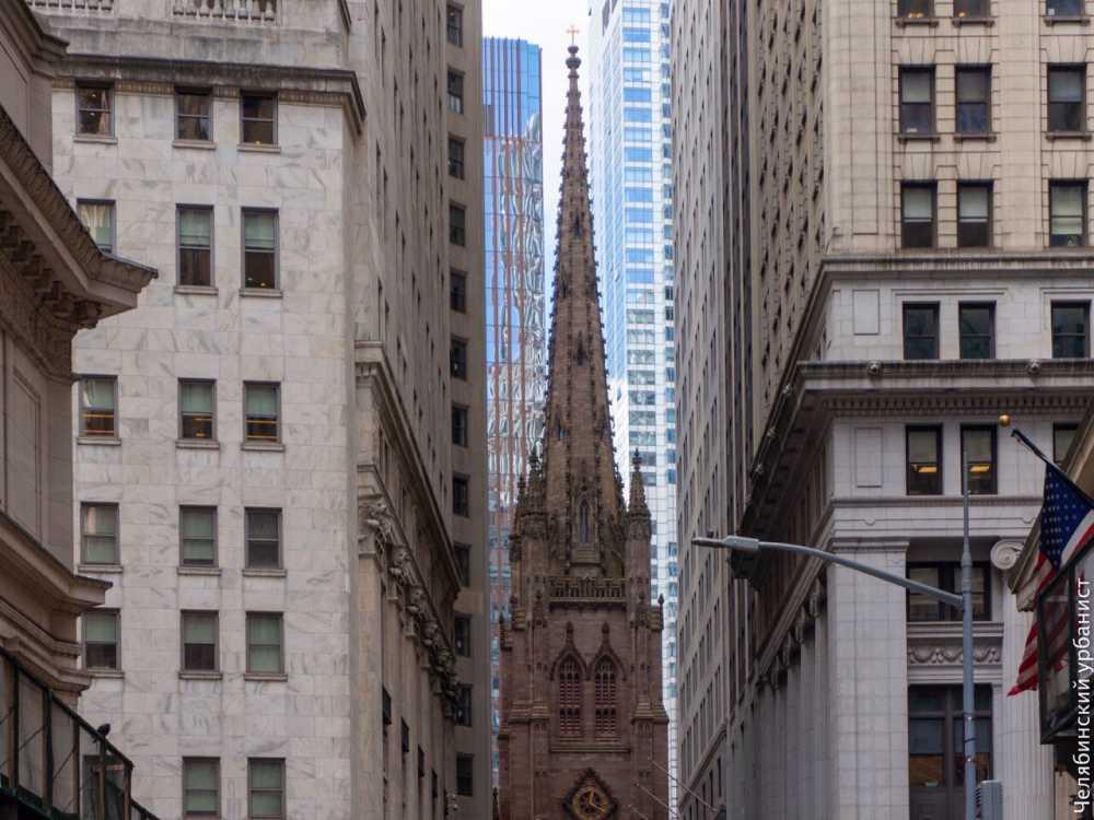 В Нью-Йорке не красят фасады многоэтажек.