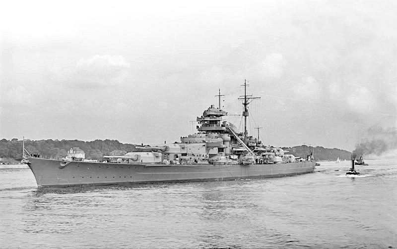 Линкор «Бисмарк».