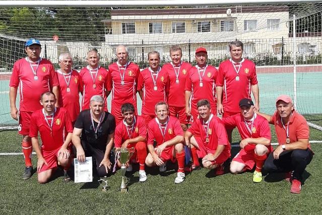 Команда ветеранов клуба
