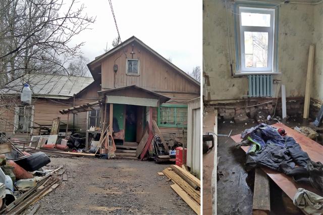 А пока Татьяна Рудыковская смотрит на мир исключительно изнутри своего покосившегося домика. Пытаясь спрятаться от пронизывающего холода в ещё хоть немного пригодных для жилья двух комнатах…