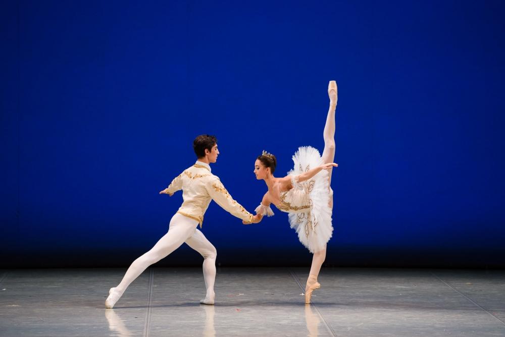 Виктория Снигур и Марат Сафин. Па-де-де Сванильды и Франца из балета «Коппелия».
