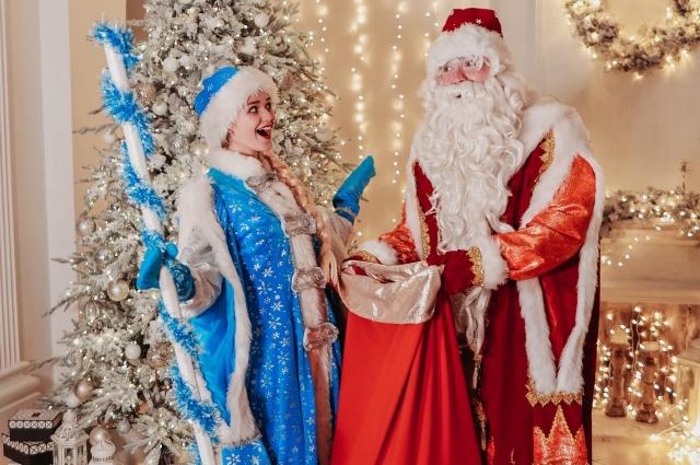 Дед Мороз со стажем.
