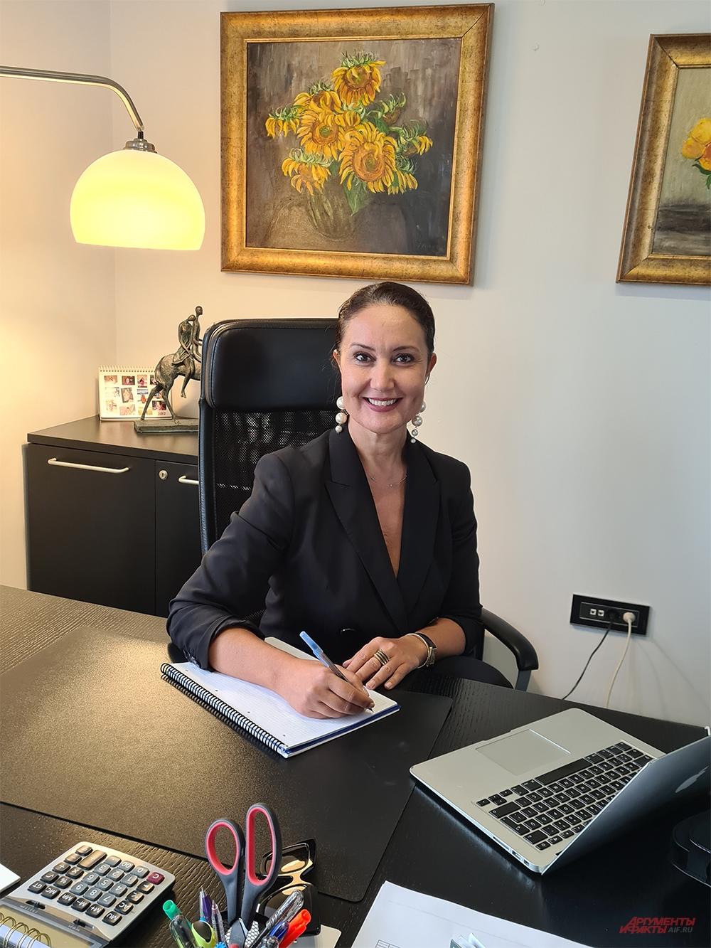 Директор турецкого VIP-агентства «Аида Турс» Адвийе Бергеманн.