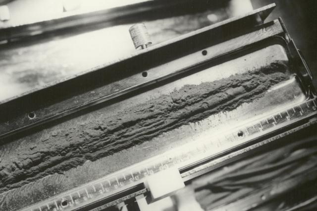 Образец лунного грунта из Моря Изобилия.