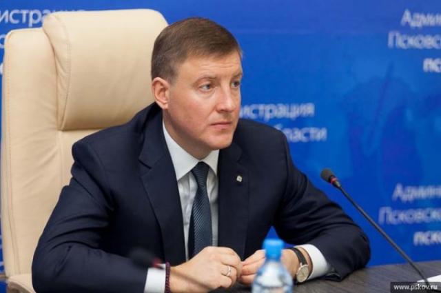 Андрей Турчак покинул пост губернатора Псковской области.
