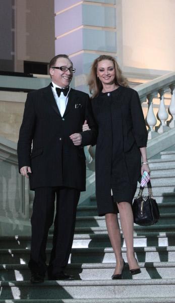 Композитор Максим Дунаевский с супругой Мариной