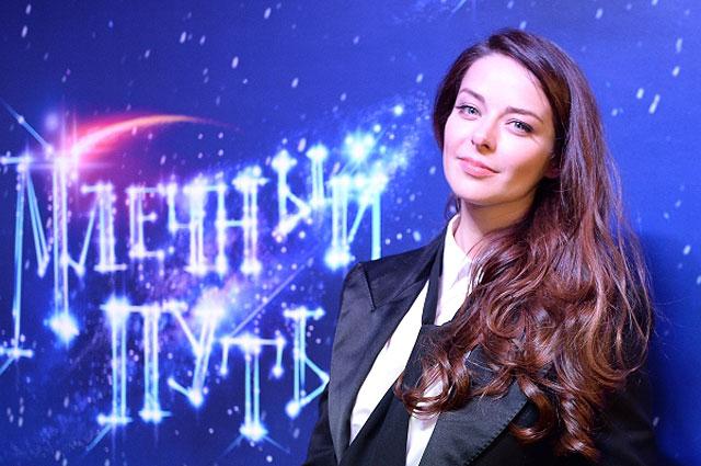 Марина Александрова на предпремьерном показе фильма режиссера Анны Матисон «Млечный путь»