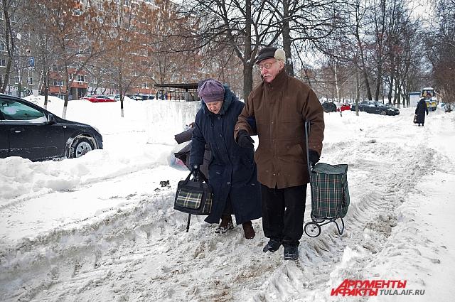 Традиционное зимнее блюдо региона – снежная каша.