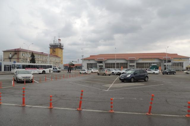 Международный аэропорт Краснодара.