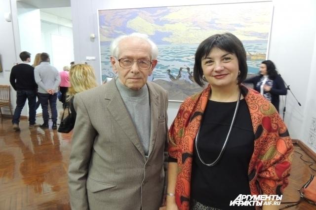 Андрей Визель и Мария Дмитренко.