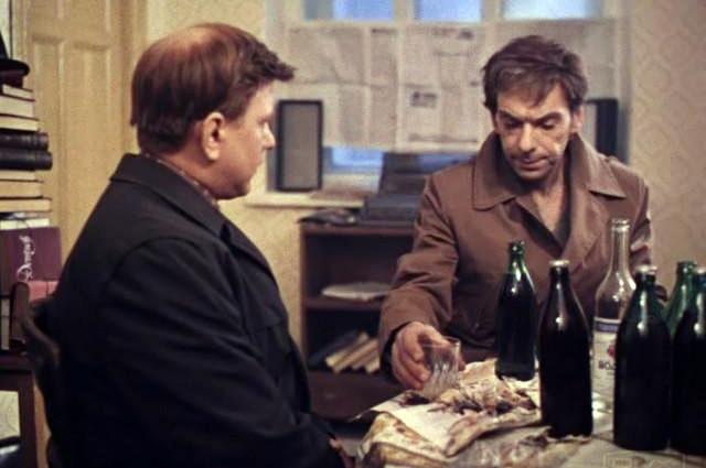 Кадр из фильма «Москва слезам не верит», 1980 год