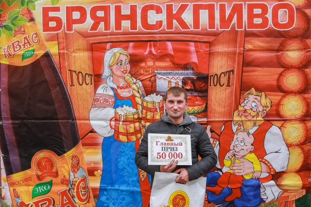 Победитель Алексей Свиль.