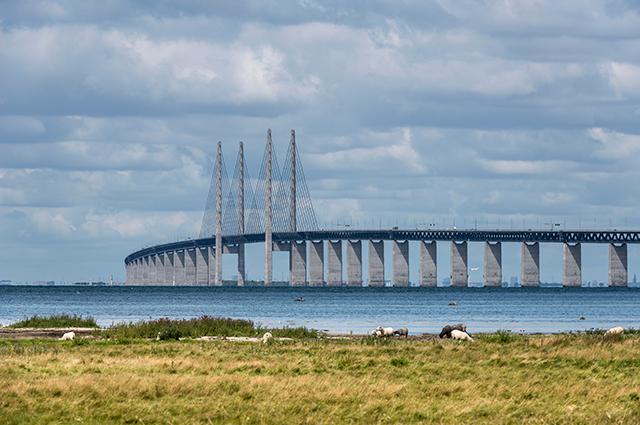 Эресуннский мост-тоннель.