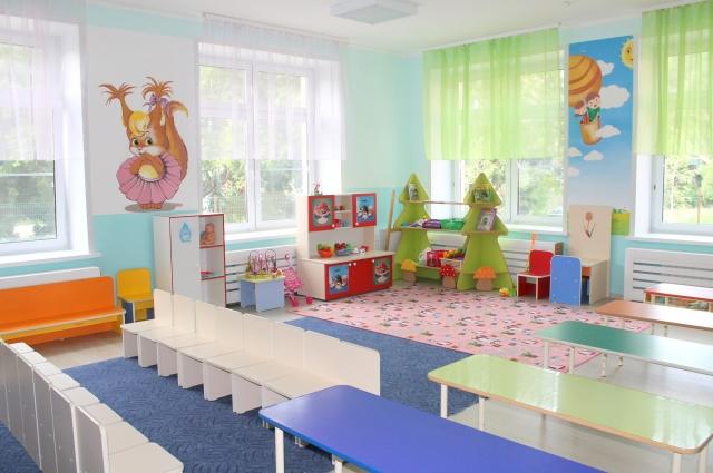 В детском саду научат играть и общаться.