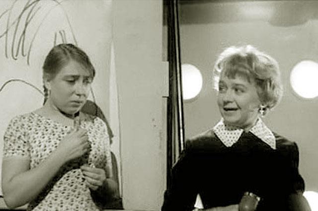 Инна Чурикова в фильме «Я шагаю по Москве». 1964 г.