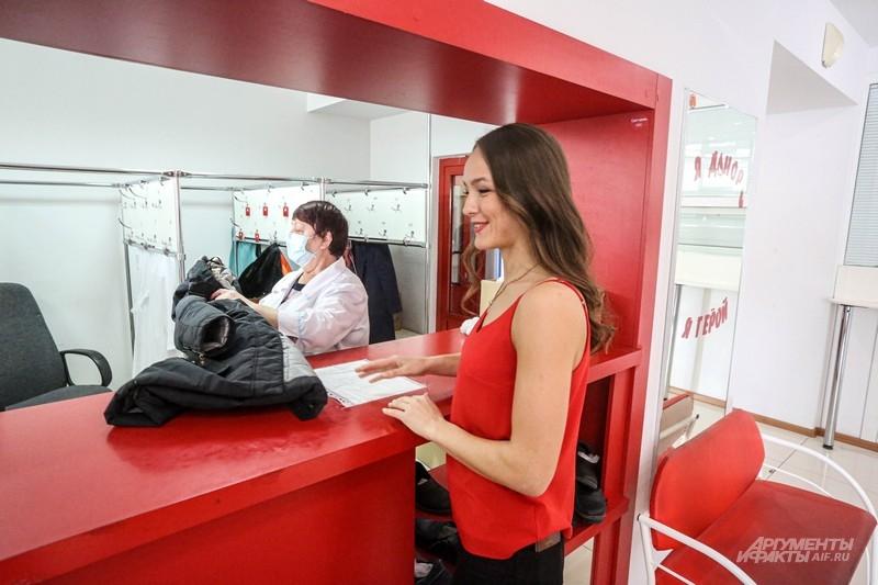 В Центре переливания крови заблудиться невозможно — вам помогут сориентироваться даже в гардеробе.
