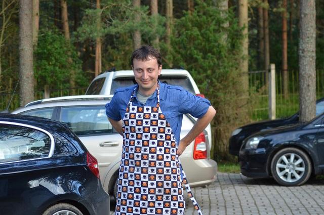 Антон Дубенской, директор кафе «Компот»