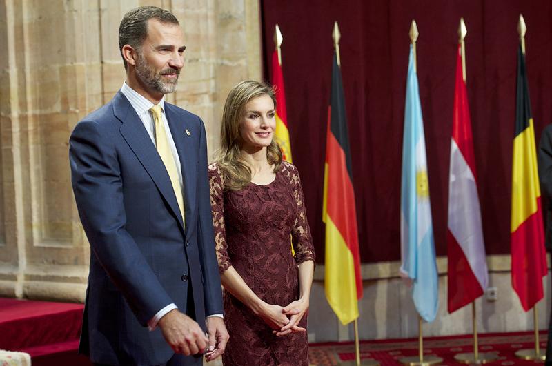 Филипп VI и Летисия Испанская
