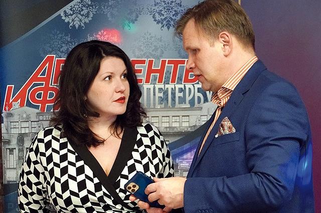 Генеральный директор Алина Клименко с партнером.
