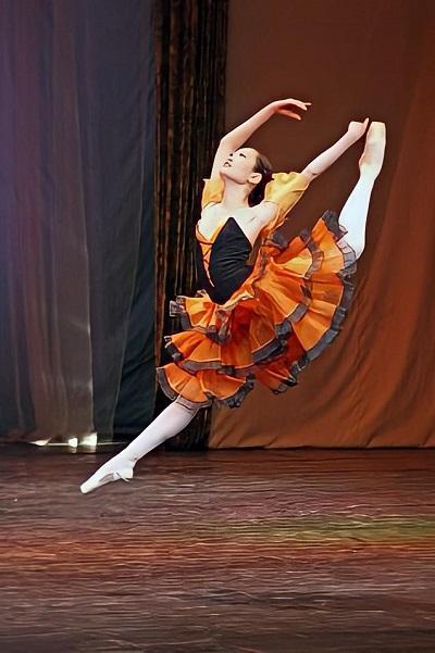 Вес для балерины, в первую очередь, для партнера.
