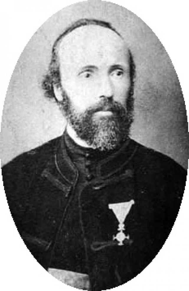 Милутин Тесла, сербский священник, отец Николы.