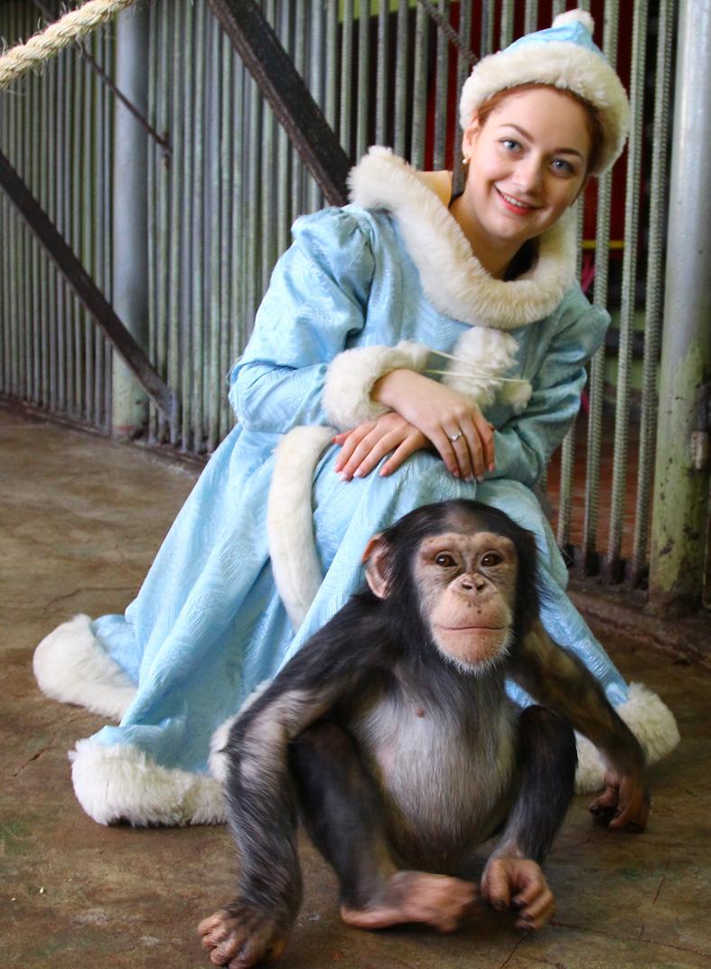 Снегурочка из «Аиф на Дону» пришла в гости к Дороти.
